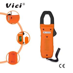 Image 5 - Tragbare Digitale Clamp Meter ViCi Multimeter AC/DC Volt Strom Spannung Ohm NCV Temperatur Tester Widerstand Amperemeter CM 2016