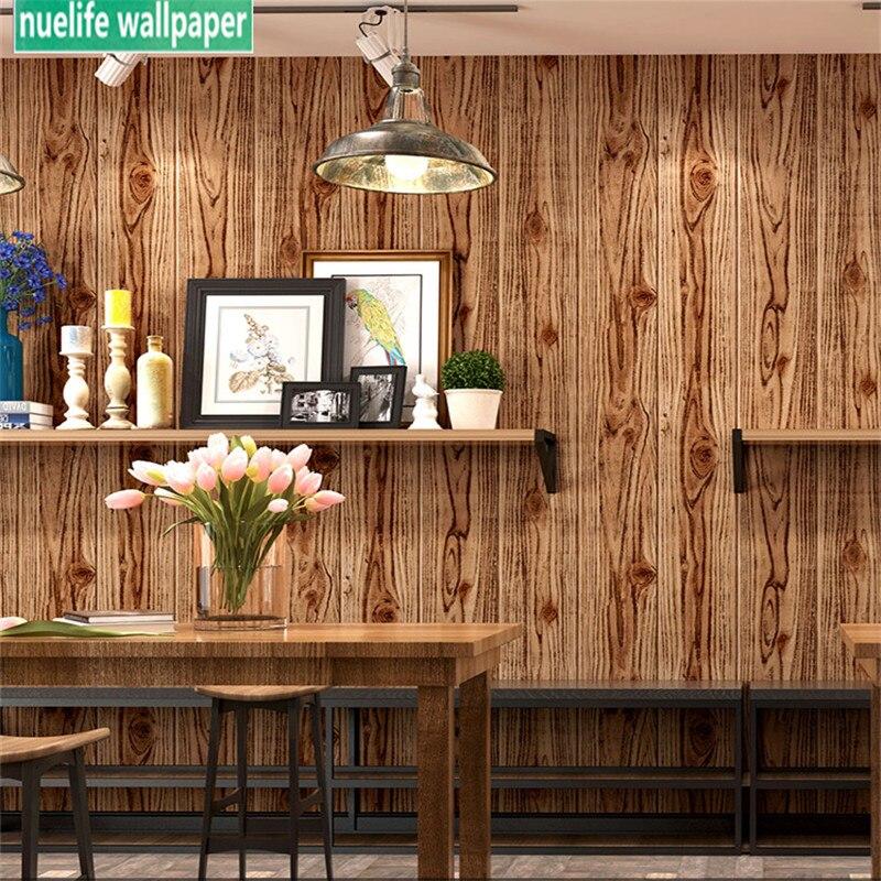 Ambre chêne rouge chêne blanc herbe gris rétro grain de bois texture bois couleur chambre boutique chinois classique style 3d papier peint
