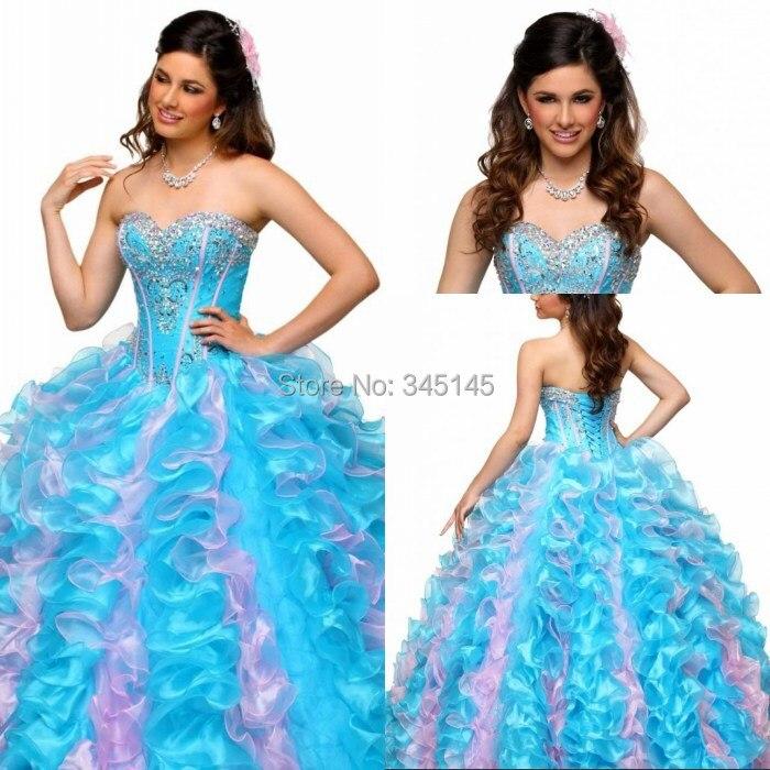 Belle chérie Tieback pleine longueur robes de bal Quinceanera robes doux seize robes