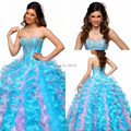 Lovely Sweetheart Tieback Full Length Ball Gowns Quinceanera Dresses Sweet Sixteen Dresses