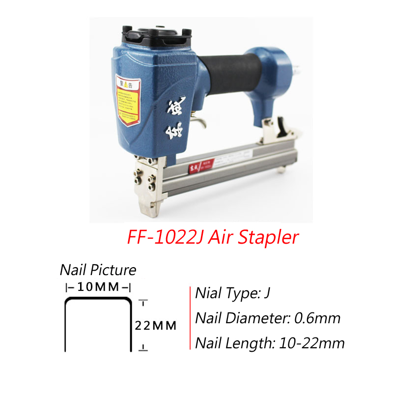 Tools Power Tools Official Website Air Stapler 1022j Nail Gun For Width 10mm Code Nail 10-22mm U Nail Pneumatic Air Nail Gun 0.6mm Nial Diameter/8mm Pipe A Plastic Case Is Compartmentalized For Safe Storage
