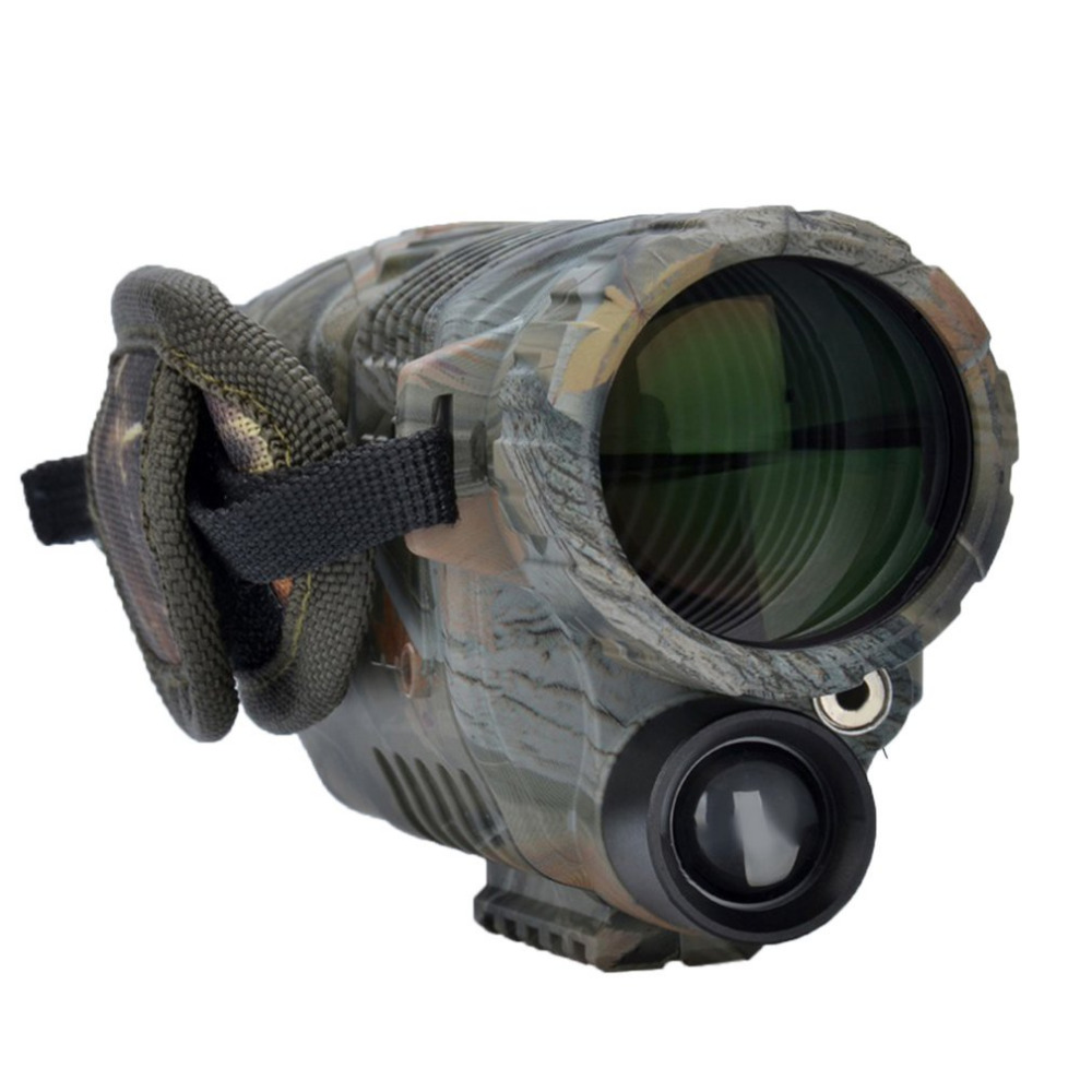 5x42 Hunting Night Vision Magnification Camouflage High-definition Night Vision Telescope Portable Infrared Camera Video binocular telescope high definition high double night vision non infrared for children adult concert glasses