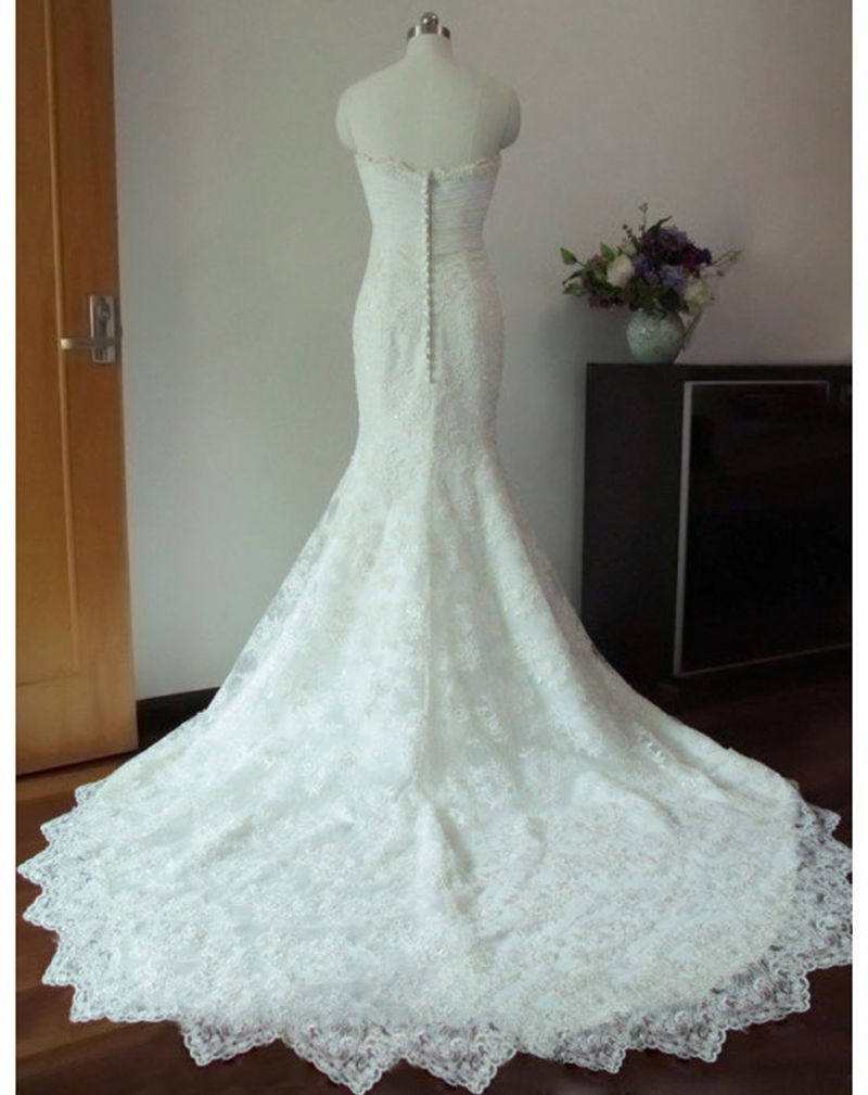 Aliexpress.com : Buy Vestidos De Novia Mermaid Bridal Gown Fish Tail ...