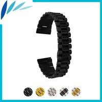 Stainless Steel Watch Band 18mm 20mm 22mm for Tissot 1853 Quick Release Strap Wrist Men Women Loop Belt Bracelet Black Silver