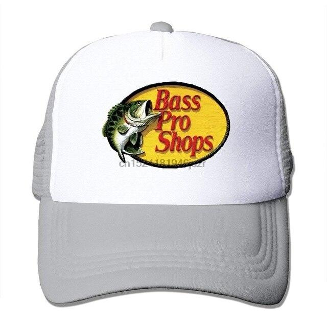 Unisex Bass Pro Shops Logo Classic Mesh Back Trucker Cap Hat-in ... 9a2dc84e699