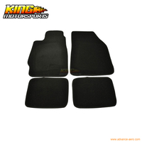 For 1988 1991 Honda CRX Civic Factory Cutting Floor Mats Carpet Front Rear Nylon USA Domestic Free Shipping