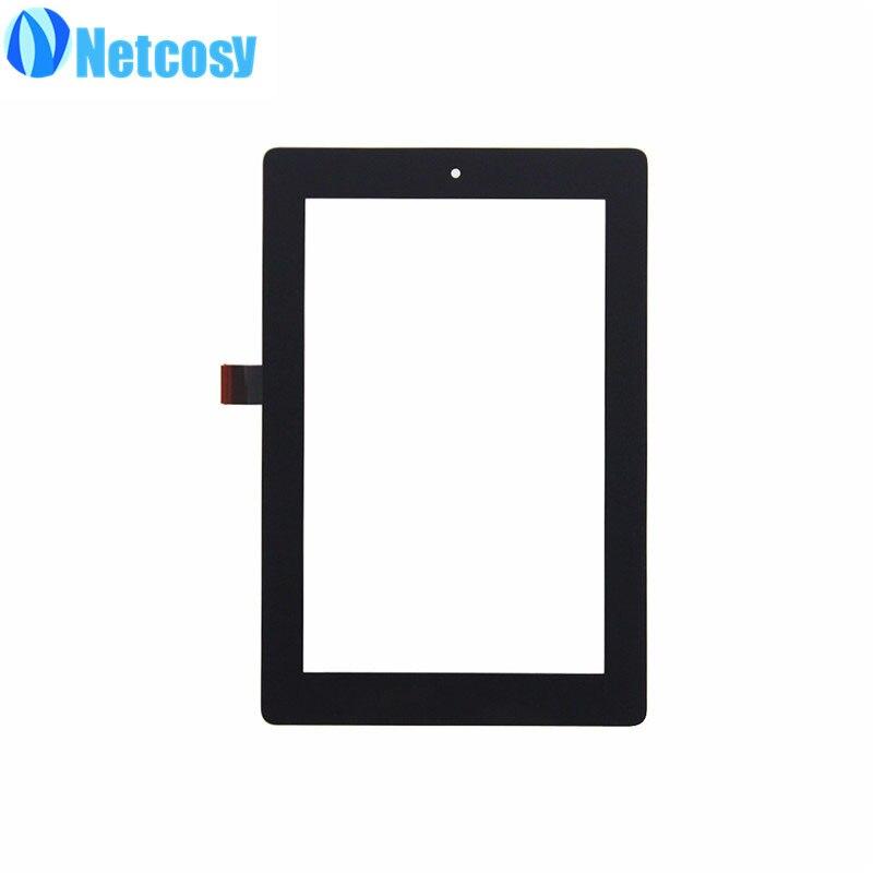 Netcosy Сенсорный экран планшета Стекло объектив Панель запасные части для Amazon Kindle Fire HD 7 HD7 2014 Tablet сенсорный Панель