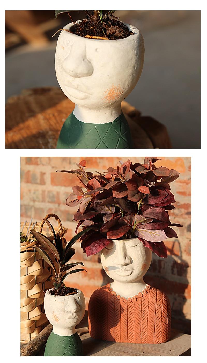 vaso de flores decoração do jardim criativo vaso de flores