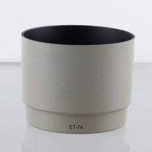 Бленда для объектива CANON EF 70 200 мм, белая бленда для CANON EF 70 200 мм f/4L F4 USM, ET74