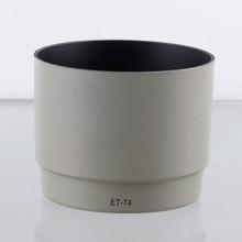 ET 74 ET74 70 200 milímetros Lens Hood for CANON EF f/4L F4 USM branco