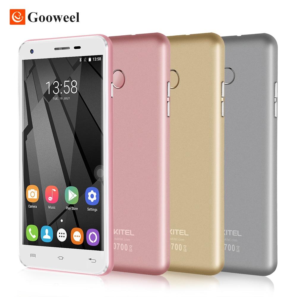 Original Oukitel U7 Plus smartphone 5 5 HD MT6737 Quad Core mobile phone 2GB 16GBAndroid 6