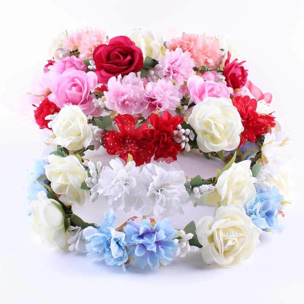 Wholesale Bohemian Style Wreath Flower Crown Wedding Garland