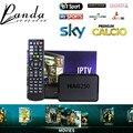 Alemania Portugal Italia Mag250 IPTV Caja con 1400 Albaneses de Turquía canales de IPTV Adultos XXX Hot club incluido Smart Set Top caja