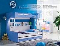 Роскошные детские кровати двухъярусные кровати Camas Детские с лестницей Топ Мода Лидер продаж деревянный детский сад мебель детская кровать