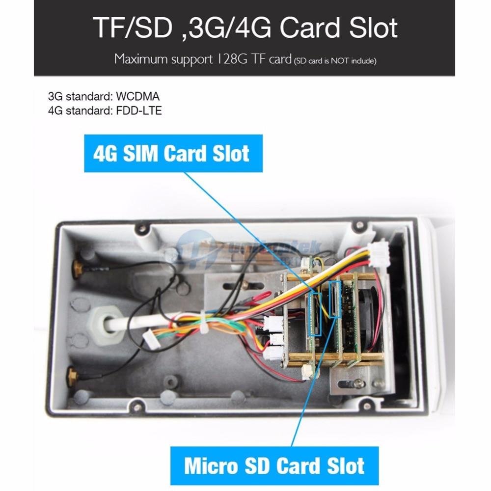 1080P 3G 4G SIM Card Camera WIFI Outdoor HD Bullet IP Camera Wi-Fi Wireless  Night Vision IR 20M TF Card Slot APP CamHi CCTV Cam