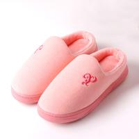 Winter Slippers Women Plush Home Shoes Fur Warm Comfort Indoor House Home Slippers Large Size Slippers