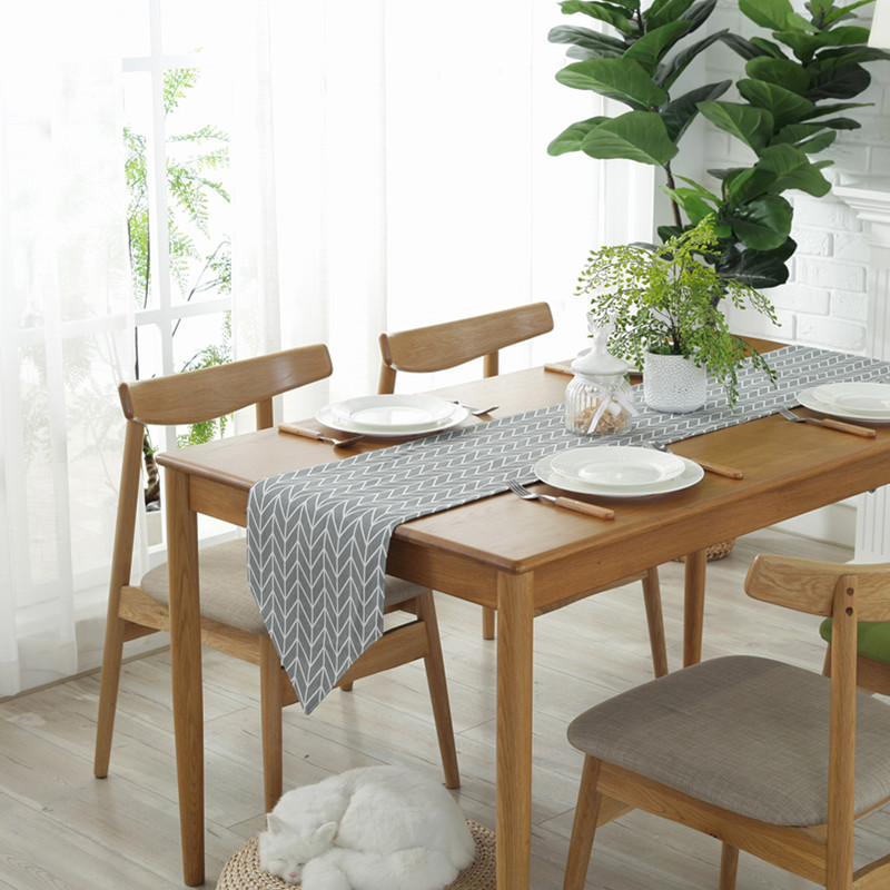 Image 1 - Modern Table Runner chemin de table Table Runners for Wedding Party Palm Leaf camino de mesa tafelloper Monstera Leaf Placemat-in Table Runners from Home & Garden