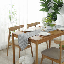 Modern Table Runner chemin de table Table Runners for Wedding Party Palm Leaf camino de mesa tafelloper Monstera Leaf Placemat