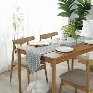 Image 1 - Modern Table Runner chemin de table Table Runners for Wedding Party Palm Leaf camino de mesa tafelloper Monstera Leaf Placemat