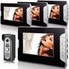 SmartYIBA Video Doorbell 7 Inch Colar Monitor Wired Video Door Intercom Door Phone System 1 Monitor