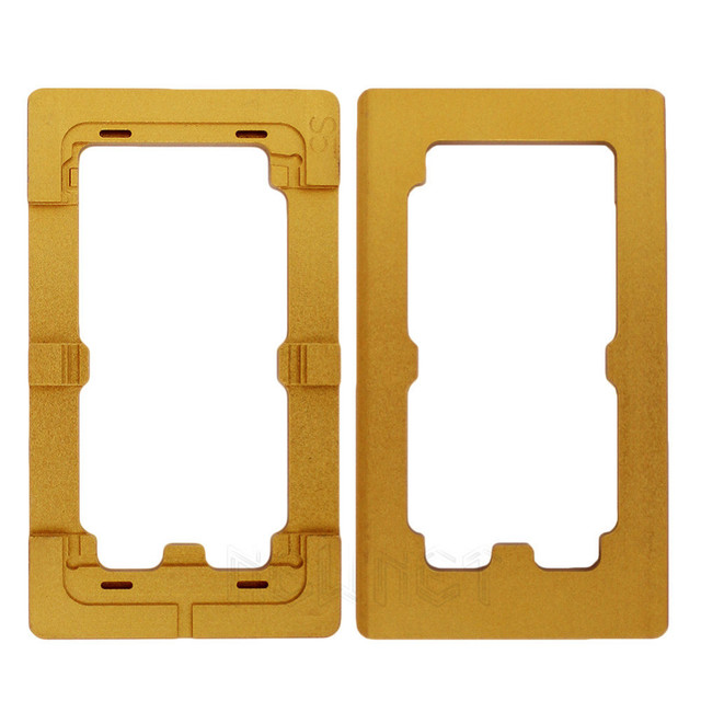 Para samsung s5 liga de alumínio tela de precisão remodelação mould moldes para samsung galaxy s5 lcd reparação tela sensível ao toque