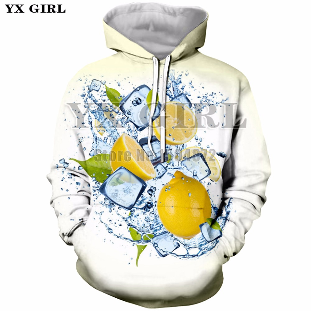 New Fashion Sweatshirts Women Men Funny Fruit 3D Print Hoodies Unisex Casual Hoodie Pullovers With Pocket Hoody Tracksuit