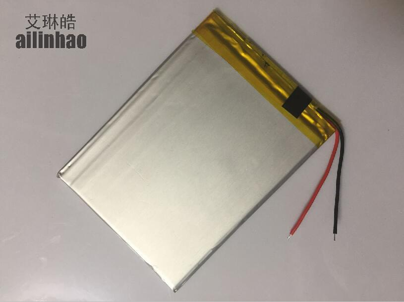 ailinhao new 2 Wire Universal Battery For <font><b>BQ</b></font> Mobile <font><b>7022G</b></font> Tablet Battery inner 3000mah 3.7V Polymer li-ion+Tracking image