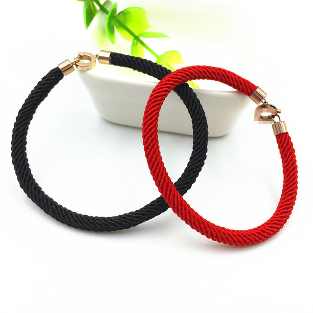 a83ff37c6175 Encanto hilo rojo pulsera de hilo rojo Pulseras pulseras para hombres de  las mujeres de hilo