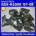 100% Fit motorcycle fairings for SUZUKI GSXR 1000 K7 K8 fairings 2007 2008 K7 GSXR1000 Injection molding glossy flat black ABS f