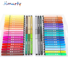лучшая цена Color pen art marker drawing set colors children washable watercolor pen safe non-toxic water washing graffiti environmental