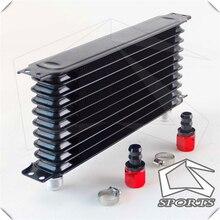 Universal 10 linha AN 10AN refrigerador de óleo 10 linhas confiança tipo + acessórios retos