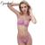 Oyadeal Mulheres conjuntos de Sutiã de Renda Top Breve Sutiã Lingerie Sexy Roupa Interior Sem esponja transparente Ultra-Fino conjunto de Sutiã Respirável