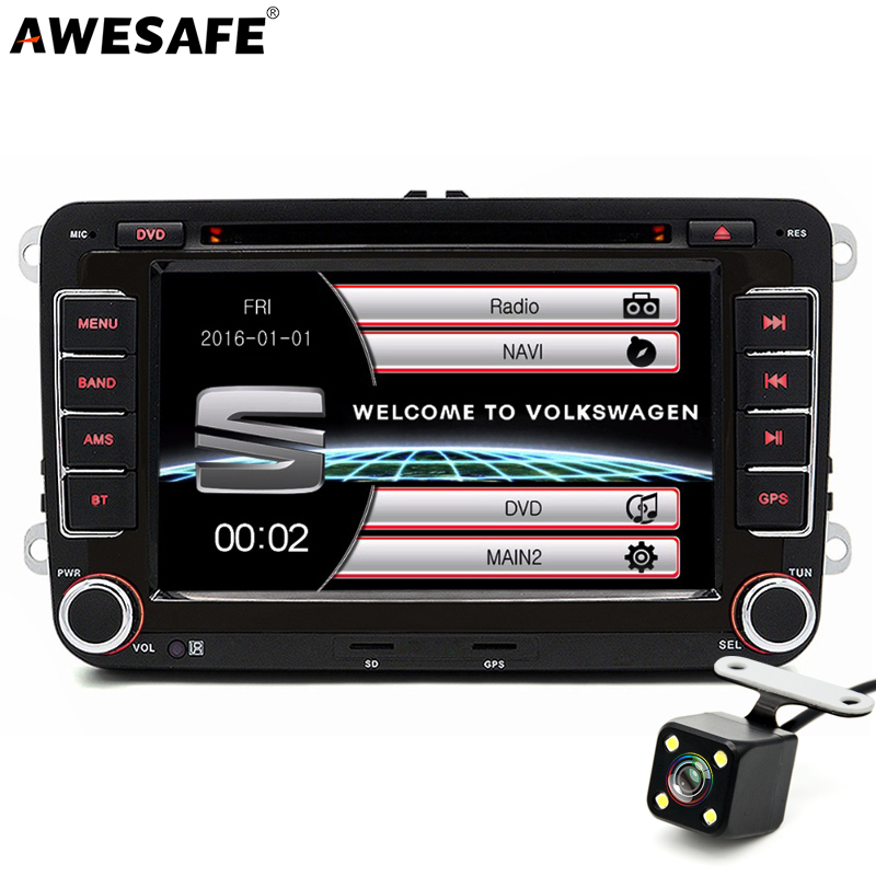 7 inch 2 din car dvd radio player gps navigation audio for for Mueble 2 din seat leon 1m
