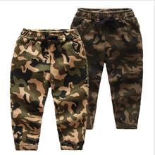 Новые детские штаны для мальчиков, камуфляжные джинсы для маленьких мальчиков, штаны дизайнерские весенние детские джинсы, детские длинные джинсовые штаны с эластичной резинкой на талии
