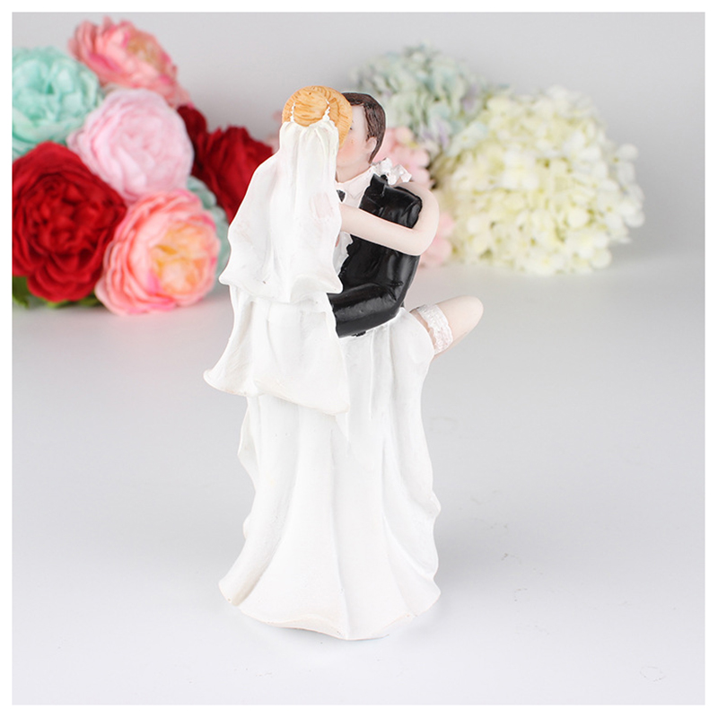 39d992938 HOT Funny Sexy Wedding Cake Topper with Bride and Groom | Fun, Sexy,  Humorous Figurine 6.5*5*15CM-in Figurines & Miniatures from Home & Garden  on ...