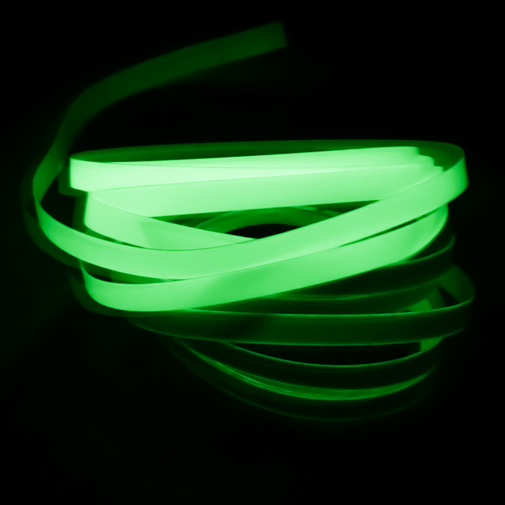 12MM 3M Luminous Tape Self-adhesive Glow In The Dark Safety Stage Office Adhesives Tapes Home Decorations Stationery 1pcs 18mm x 5mm single sided self adhesive shockproof sponge foam tape 3 meters