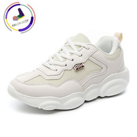 KAILON ADDY Fashion Off White Shoes Lightweight Running Shoes Wild Casual Shoes Breathable Large Size Fashion Women's Shoes