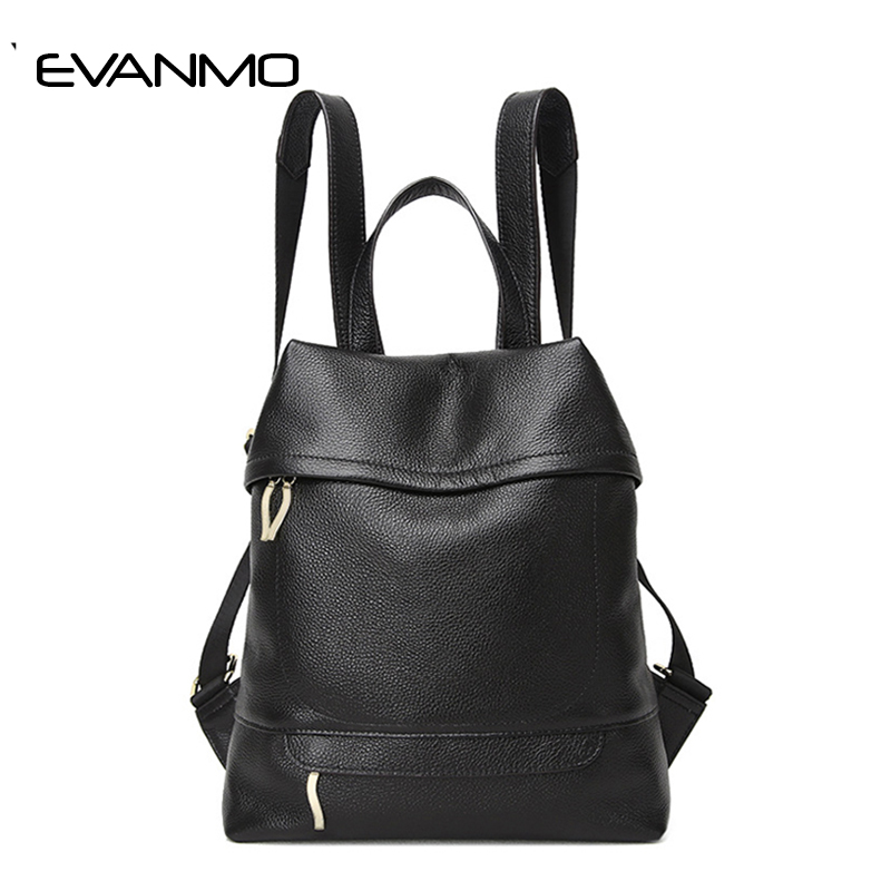Fashion Women's Genuine Leather Backpack Vintage Backpacks for Teenage Girls Casual Bags Female Shoulder Bags Women Travel Bag jmd vintage women backpack for teenage girls school bags fashion large backpacks high quality genuine leather travel laptop bag