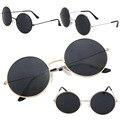 OUTEYE Moda Mulheres Homens Estilo Retro Rodada Do Vintage Óculos Steampunk Óculos De Sol Do Metal Quadro Estilo Verão oculos de sol feminino