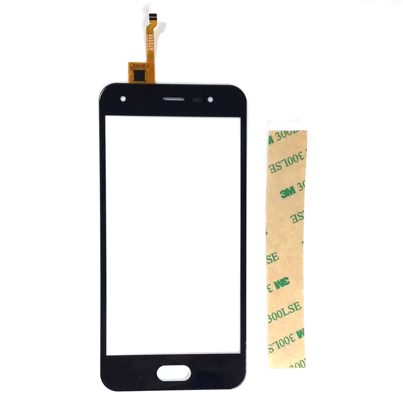 Touch Panel For BQ-5012L Rich BQ-5012 BQ 5012 BQS 5012 Digitizer Front Glass Touchscreen Replacement  With 3m Tape