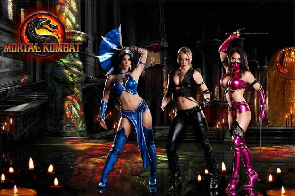 Diy Frame Mortal Kombat 9 Mileena Kitana Sexy Girl Fabric Silk