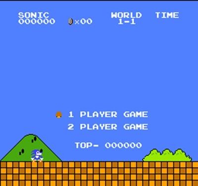 Mari Sonic Bros 60 Broches Carte de Jeu Pour 8 Peu Subor Jeu Lecteur