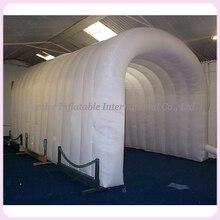 Открытый события вход Используйте 5x3x3 м белый надувная палатка тоннель свадебный шатер, палатка для деятельности
