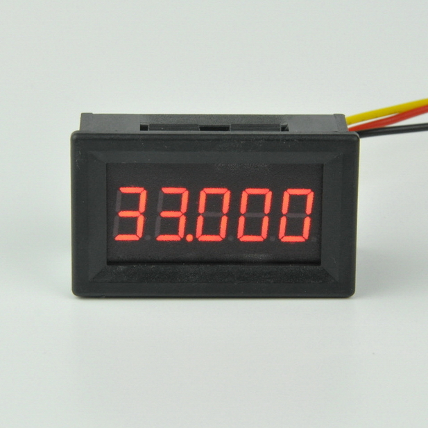 цена GWUNW BY536V DC 0-33.000V (0-33V)Voltage Tester Meter digital voltmeter 5 bit high precision