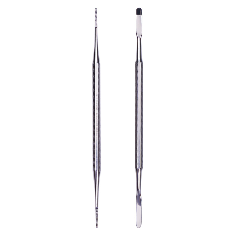 1Pc Double-headed Nail Toe File Stainless Steel Dead Skin Nail Edge Sanding Blocking Nail Art Manicure Pedicure Tools Nail Care