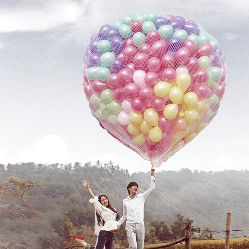 200 Pcs Wedding Party Balloon Latex Inflatable Balls For Child Brithday Party Bride&Bridegroom Marriage Decoration Balloons