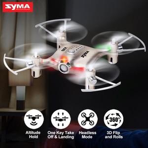 Image 1 - Syma X20 Mini Drone doré 2.4G 4CH 6 aixs télécommande hélicoptère quadrirotor Gyro poche RC Dron 3D flip enfants jouets cadeau