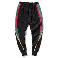 New 2017 Korean Men S Pants Belt Loose Style HIPHOP Mens Joggers Pants Fashion Boys Streetwear