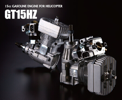 Free shipping GT 15HZ helicopter model OS gasoline engine /38150/ n3208c With exhaust pipe for rc airplane