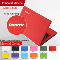 Fashion Pure Color ABC Sides Laptop Sticker Dustproof Skins Protective Decal Stickers For Lenovo U430 U430P